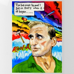 Cowboy Neal Cassady - Water Bottle