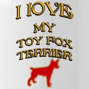 I LOVE MY DOG Toy Fox Terrier - Water Bottle