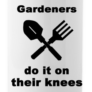 Gardeners Do It On Their Knees - Water Bottle