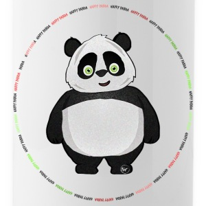 Felice distintivo Panda - Borraccia