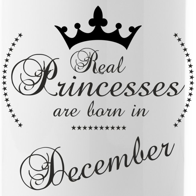 Real Princesses black December