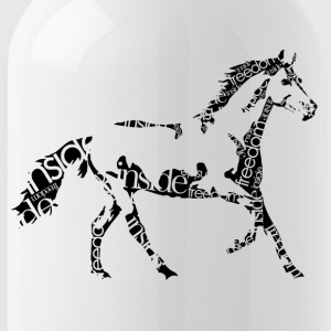 Horse_freedominside - Trinkflasche