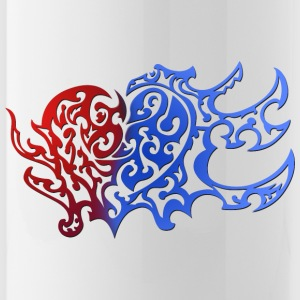 Tribal Heart Good And Evil Side - Drinkfles