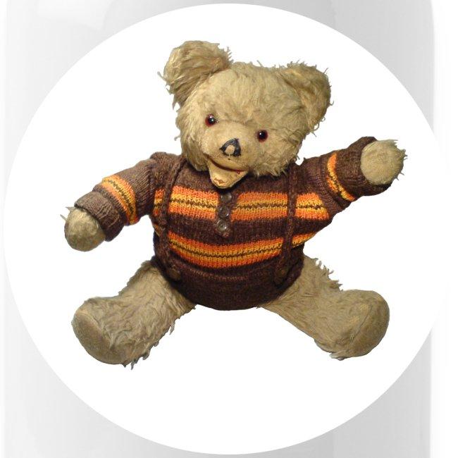 Teddybär - orange braun - Retro Vintage - Bär