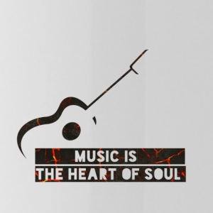 Music is the heart of soul - Gourde