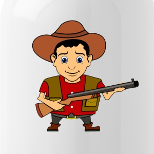 Cowboy Wild West Sheriff - Drinkfles