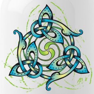 Celtic Flower - Water Bottle