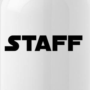Staff in black - Water Bottle