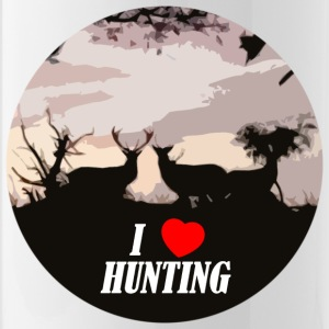 I love hunting - Water Bottle