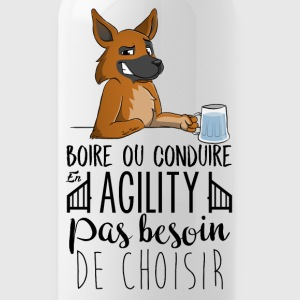 Drink or Driving - German Shepherd - Water Bottle