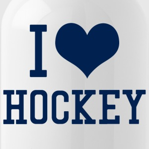 I Love Hockey - Trinkflasche