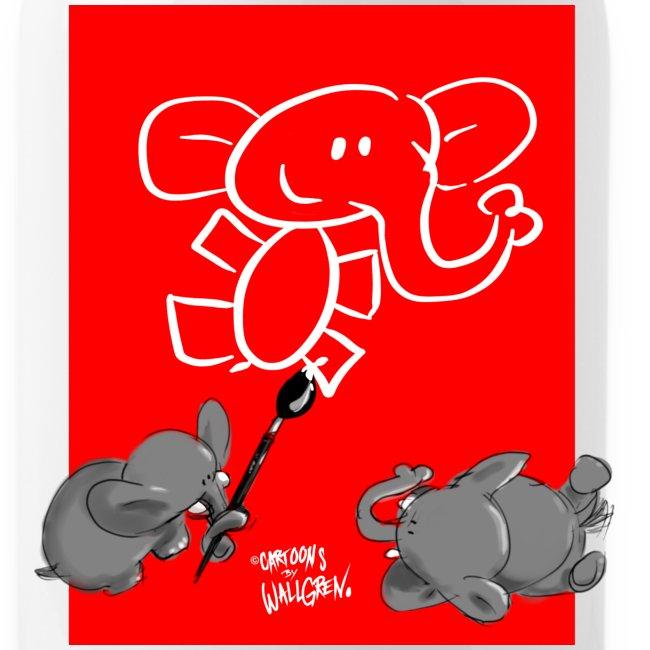When elephants paints elephants (accesories)