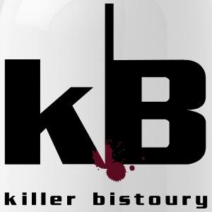 killer white bistoury - Water Bottle