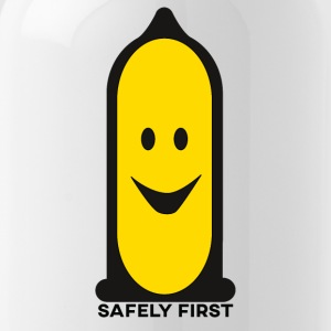 Veilig First - Smiley - Smilie - Better safe than sorry - Drinkfles