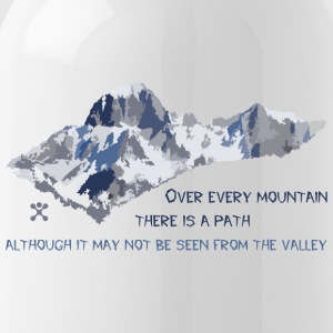 Over all the mountains ... - Water Bottle