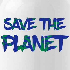 Save the Planet - Rette die Erde - Trinkflasche