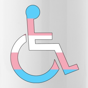 Trans Pride disabile - Borraccia