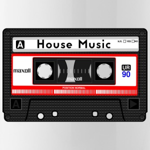 HOUSE MUSIC KASSETTE - Trinkflasche