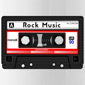 ROCK muziekcassette - Drinkfles