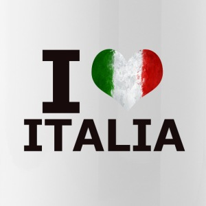 I LOVE ITALIA FLAG - Water Bottle