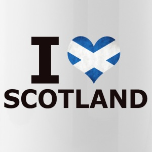 I LOVE SCOTLAND FLAG - Water Bottle