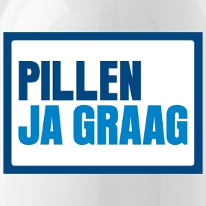 Pillen? Ja graag... - Water Bottle