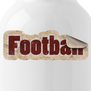 Football Stickers - Water Bottle