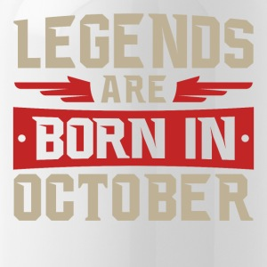 LEGENDS ARE BORN IN OCTOBER - Water Bottle