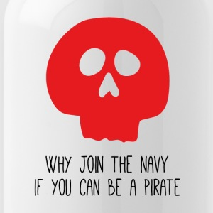 WHY JOIN THE NAVY - Trinkflasche