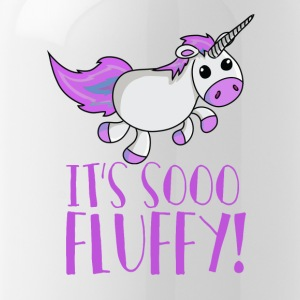 Unicorn - So Fluffy - Zo zacht! - Drinkfles