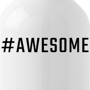#awesome - Trinkflasche