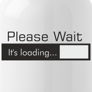 Please_Wait - Trinkflasche