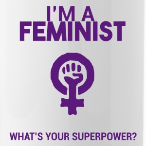I am a feminist, what's your super power? - Water Bottle