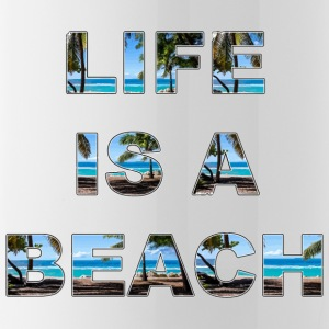 Life is a beach - Water Bottle