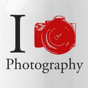 I Love Photography Collection - Drikkeflaske