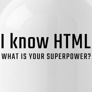 I know HTML - Bidon