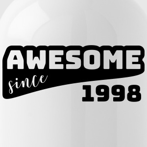 Awesome sinds 1998 / Birthday-shirt - Drinkfles