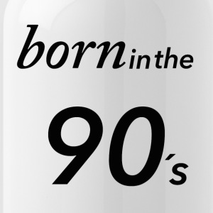 Born in the 90's - Water Bottle