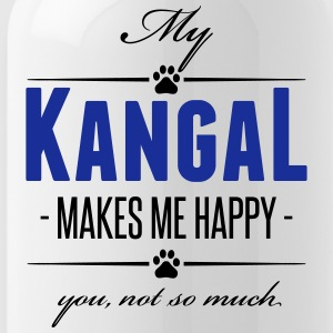 My Kangal makes me happy - Trinkflasche