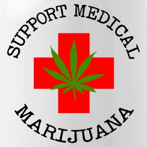 Medical Marijuana Support legalizzare - Borraccia