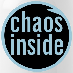 chaos inside - Trinkflasche