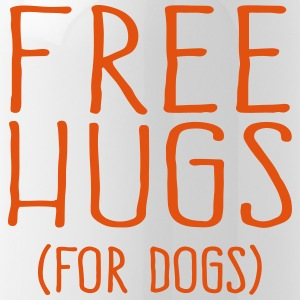 Free Hugs for dogs - Trinkflasche