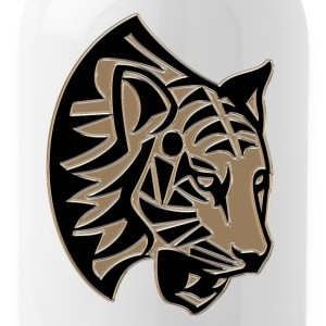 Tiger head mosaic - Water Bottle