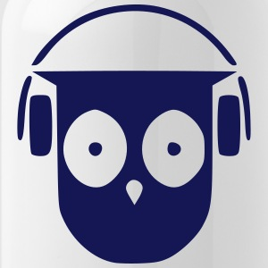My own DJ owl - Water Bottle