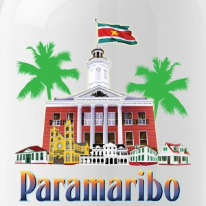 buildings Paramaribo - Water Bottle