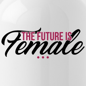 The Future is Female - muttertag - Water Bottle