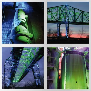 Landschaftspark Nord Illumination groen - Drinkfles