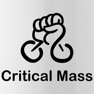 Critical Mass organized cyclist's accident - Water Bottle
