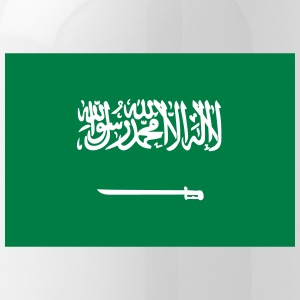 National Flag Of Saudi Arabia - Water Bottle