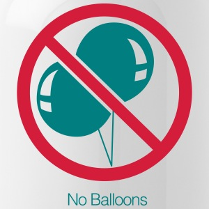 No Balloons - Water Bottle